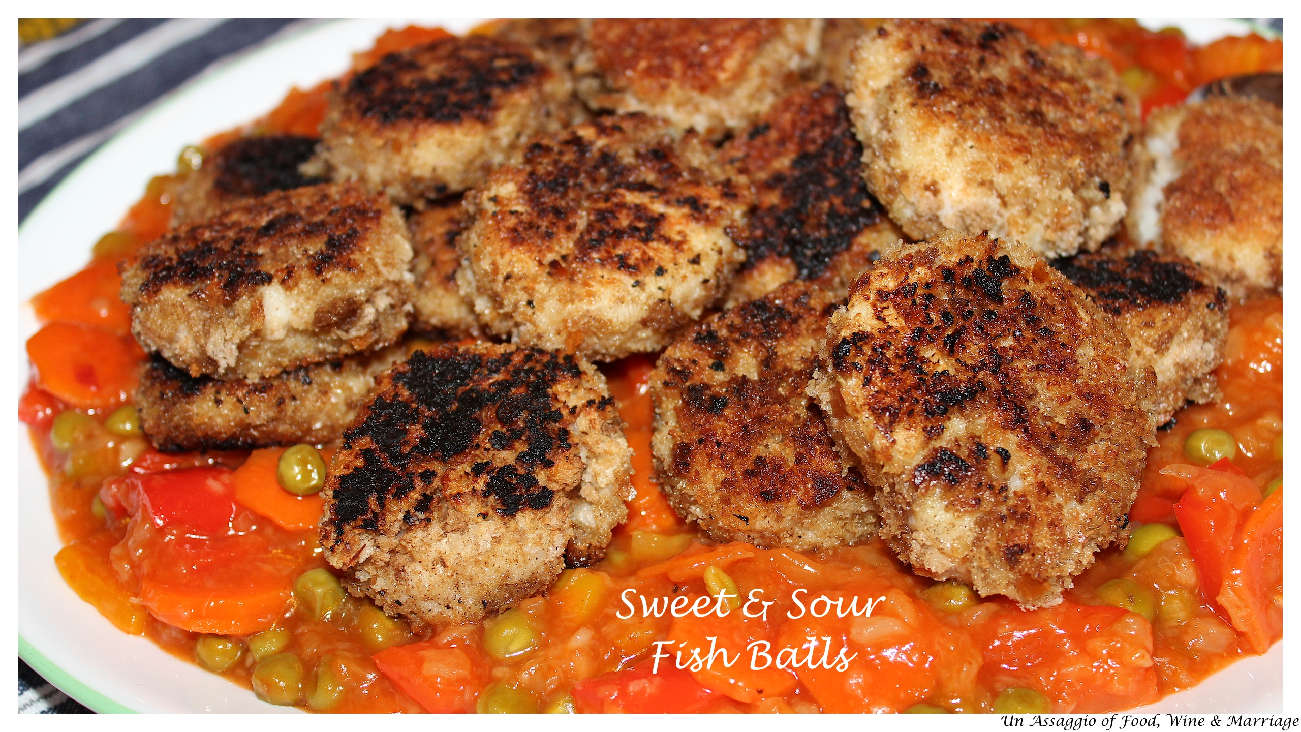 Jamie Oliver Sweet And Sour Fish Balls