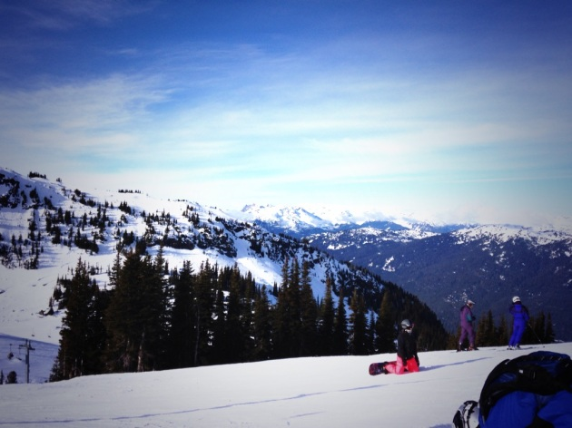 Whistler Mountain, skiing, British Columbia